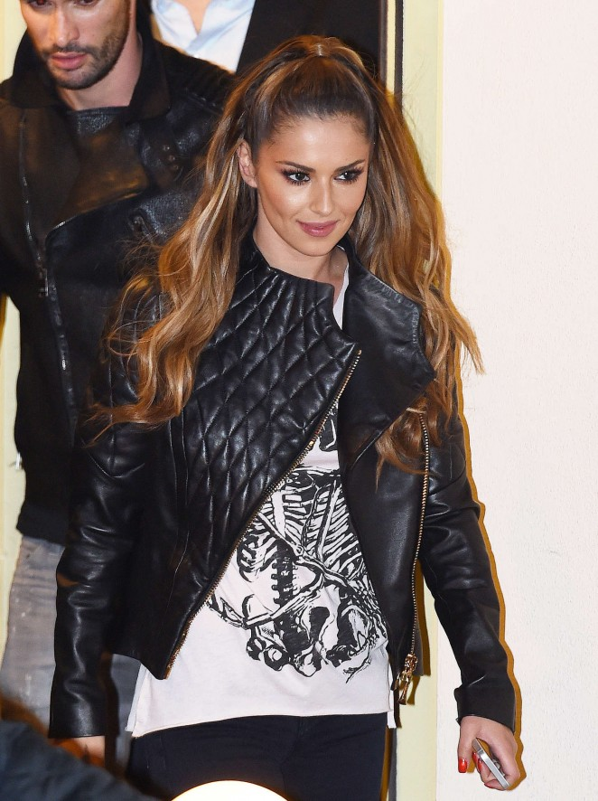 Cheryl Fernandez-Versini - Leaving 'X Factor' Studios in London