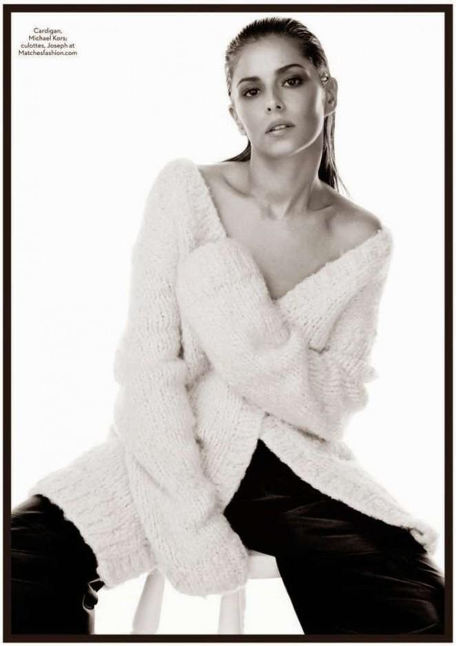 Cheryl Fernandez-Versini - Marie Claire UK Magazine (December 2014)