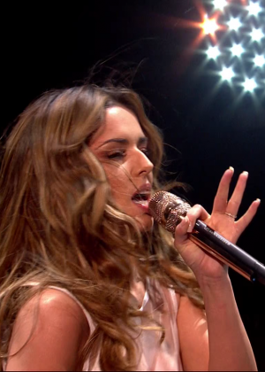 Cheryl Fernandez-Versini: Performs at X Factor -01