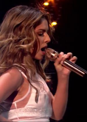 Cheryl Fernandez-Versini: Performs at X Factor -02