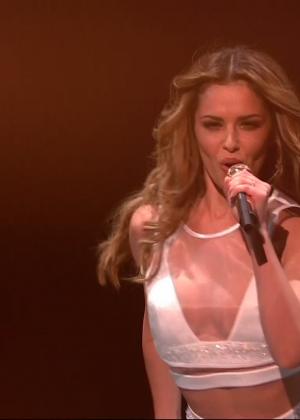 Cheryl Fernandez-Versini: Performs at X Factor -04