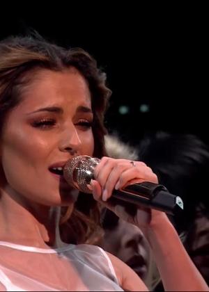 Cheryl Fernandez-Versini: Performs at X Factor -12