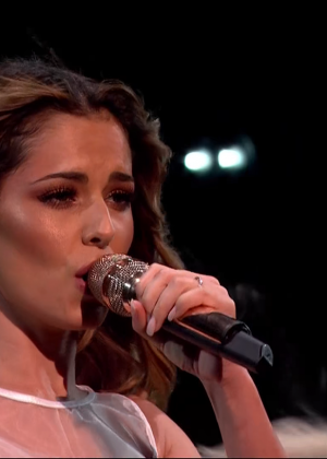 Cheryl Fernandez-Versini: Performs at X Factor -13