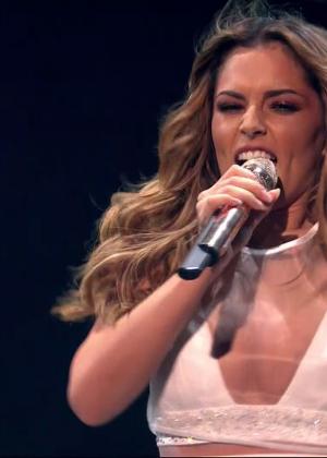Cheryl Fernandez-Versini: Performs at X Factor -14