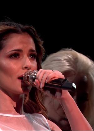 Cheryl Fernandez-Versini: Performs at X Factor -16
