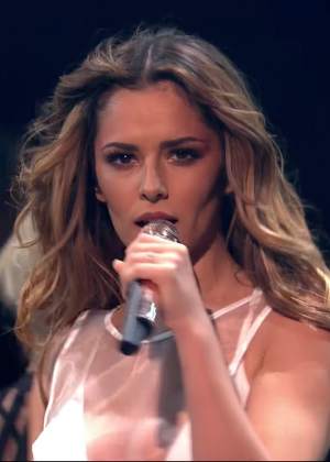 Cheryl Fernandez-Versini: Performs at X Factor -18