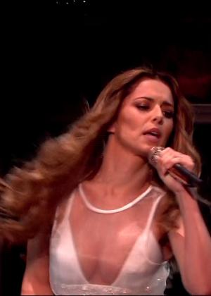 Cheryl Fernandez-Versini: Performs at X Factor -21