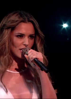 Cheryl Fernandez-Versini: Performs at X Factor -26