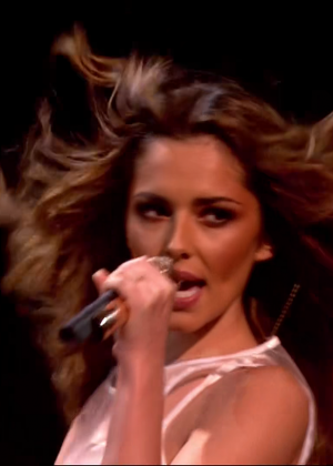 Cheryl Fernandez-Versini: Performs at X Factor -28