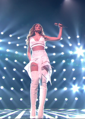Cheryl Fernandez-Versini - Performs at X Factor in London