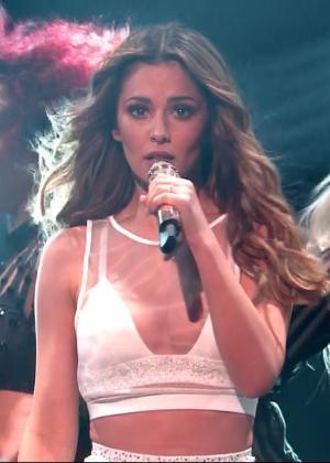 Cheryl Fernandez-Versini: Performs at X Factor -33