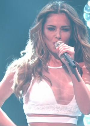 Cheryl Fernandez-Versini: Performs at X Factor -35