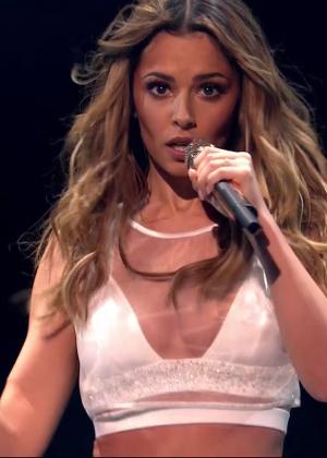 Cheryl Fernandez-Versini: Performs at X Factor -36