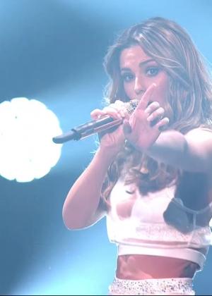 Cheryl Fernandez-Versini: Performs at X Factor -41