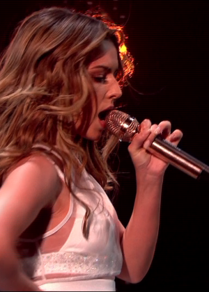 Cheryl Fernandez-Versini: Performs at X Factor -42