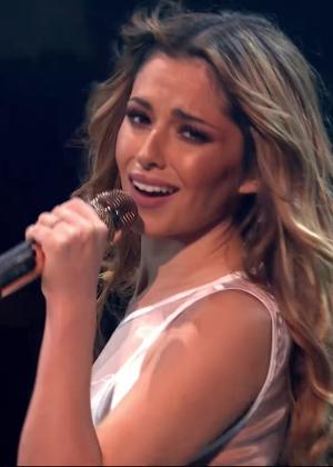 Cheryl Fernandez-Versini: Performs at X Factor -43