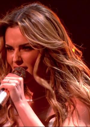 Cheryl Fernandez-Versini: Performs at X Factor -44