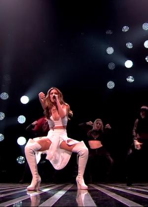 Cheryl Fernandez-Versini: Performs at X Factor -46