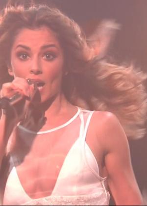 Cheryl Fernandez-Versini: Performs at X Factor -47