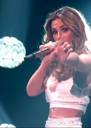 Cheryl Fernandez-Versini: Performs at X Factor -48