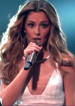 Cheryl Fernandez-Versini: Performs at X Factor -51