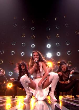 Cheryl Fernandez-Versini: Performs at X Factor -53