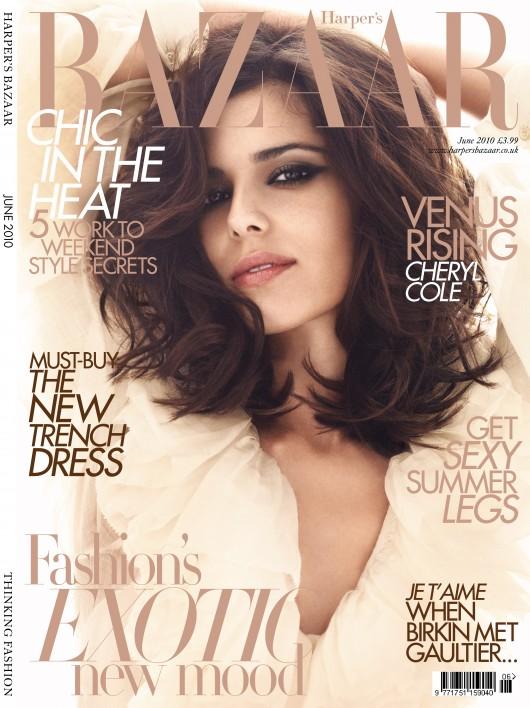 Cheryl Tweedy Cole – Harpers Bazaar Magazine – June 2010 HQ