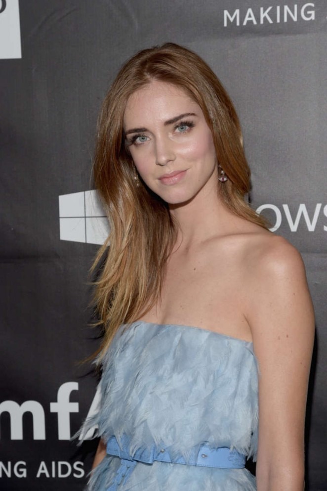 Chiara Ferragni - 2014 amfAR LA Inspiration Gala in Hollywood