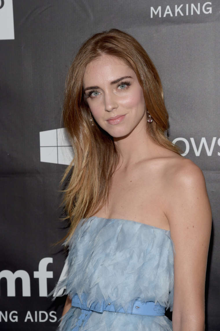 Chiara Ferragni - 2014 amfAR LA Inspiration Gala in Hollywood Hilary Duff