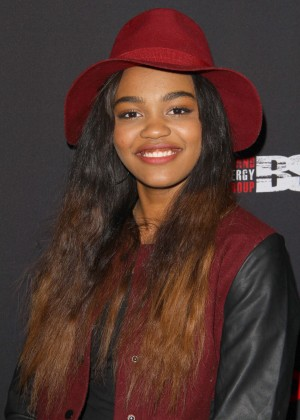 China Anne McClain - Trevor Jackson's Monster 18th Birthday Party in LA