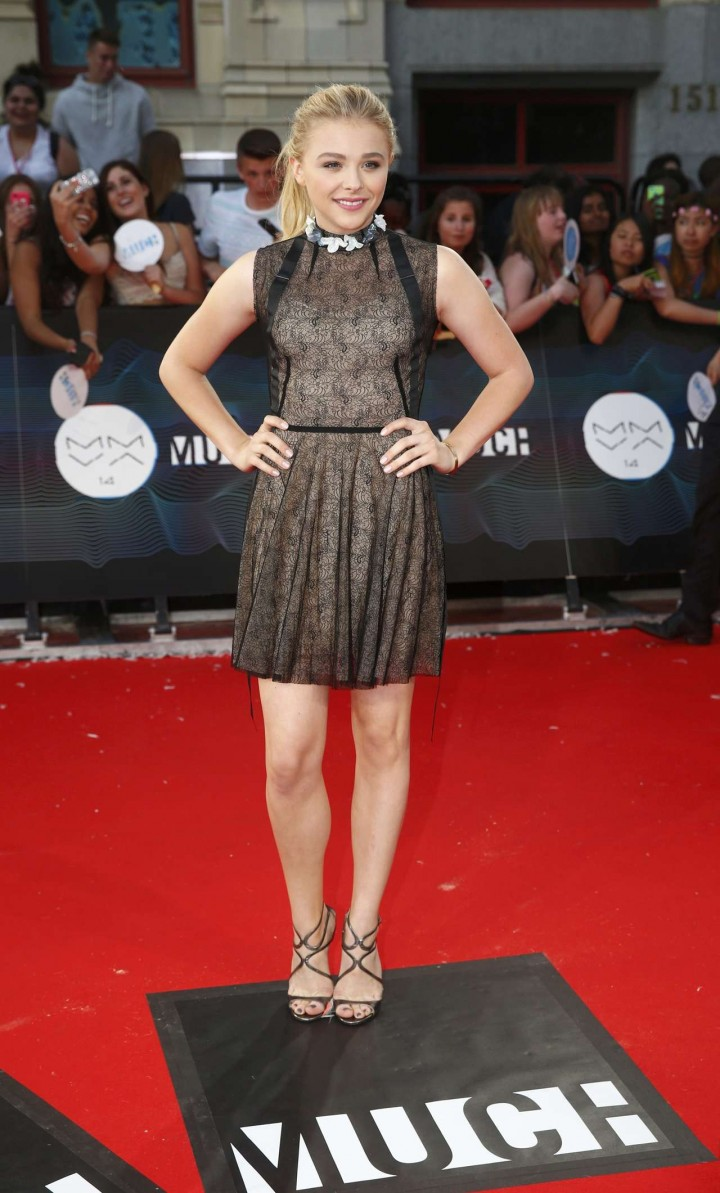 Chloë Moretz - 2014 MuchMusic Videos Awards in Toronto -02