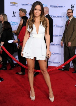 Chloe Bennet - Captain America: The Winter Soldier Premiere -01