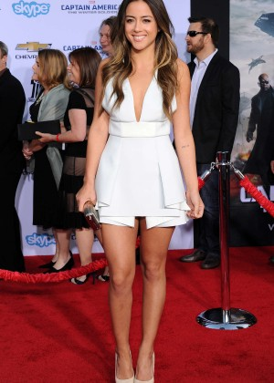 Chloe Bennet - Captain America: The Winter Soldier Premiere -03