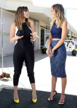 "Chloe Bennet - ""Extra"" Interview at Westfield Century City"