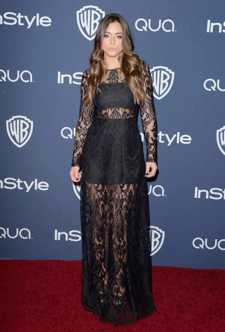 Chloe Bennet: 2014 Golden Globes after party -01