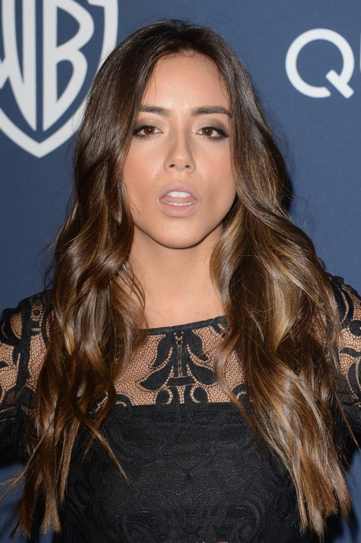 Chloe Bennet: 2014 Golden Globes after party -02