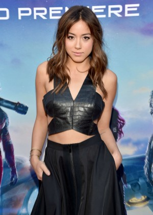 Chloe Bennet - Premiere Of Marvel's 'Guardians Of The Galaxy' in Hollywood