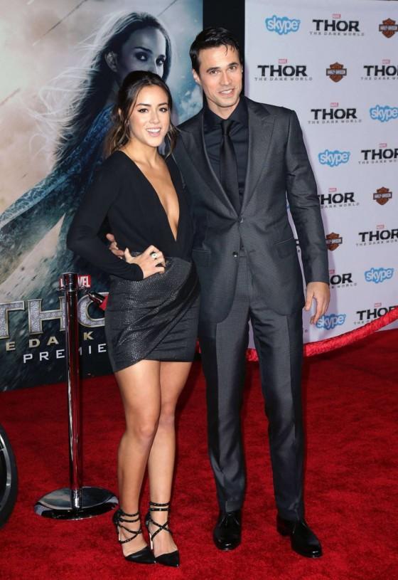 Chloe Bennet – Thor: The Dark World Hollywood Premiere -03