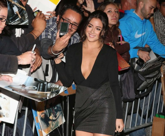 Chloe Bennet – Thor: The Dark World Hollywood Premiere -06