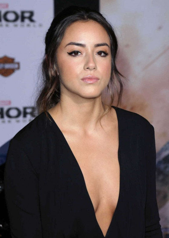 Chloe Bennet – Thor: The Dark World Hollywood Premiere -08