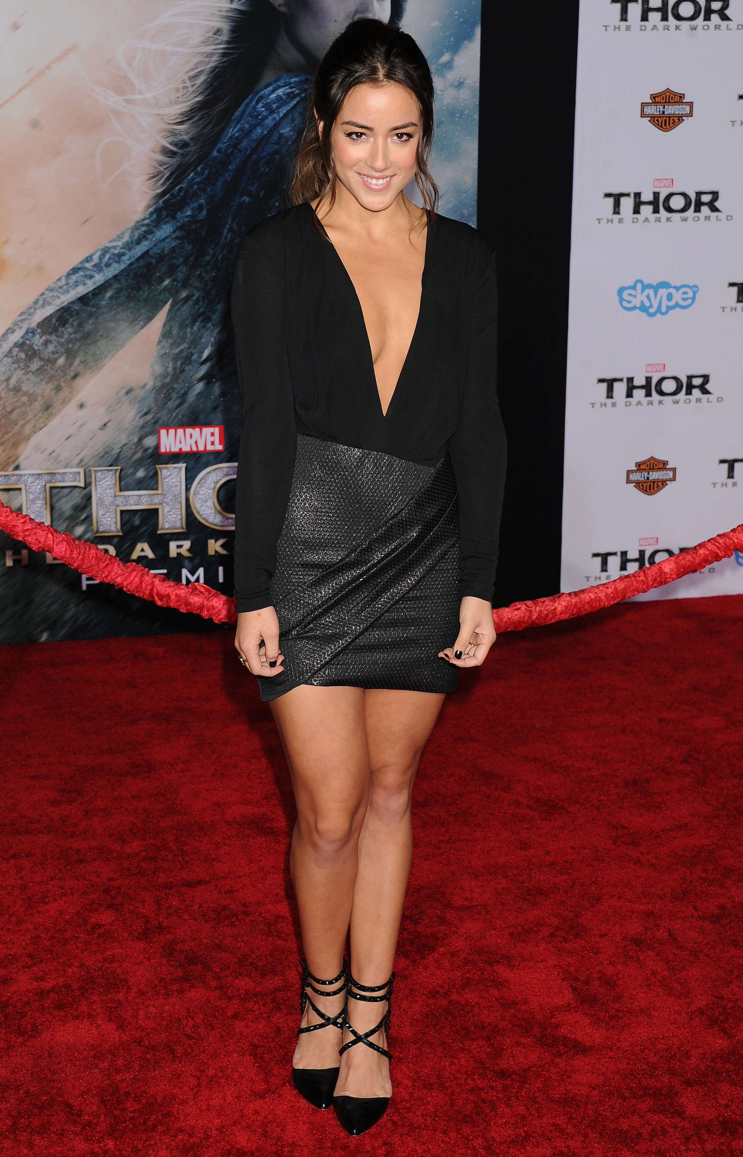 Chloe Bennet Thor The Dark World Hollywood Premiere 15
