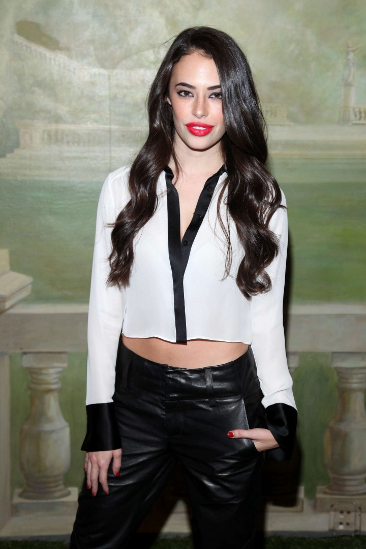 Chloe Bridges - Alice + Olivia Fashion Show in NY