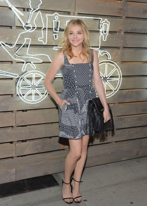 Chloe Moretz - 2014 Coach Summer Party in NYC -01