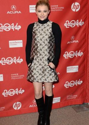 Chloe Moretz: 2014 Sundance Film Festival -05