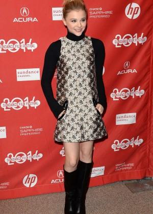 Chloe Moretz: 2014 Sundance Film Festival -10
