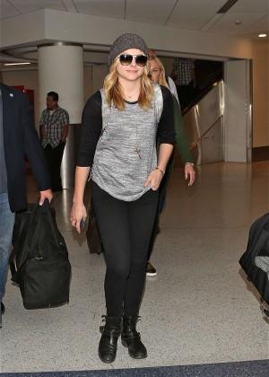 Chloe Moretz at LAX Airport in LA