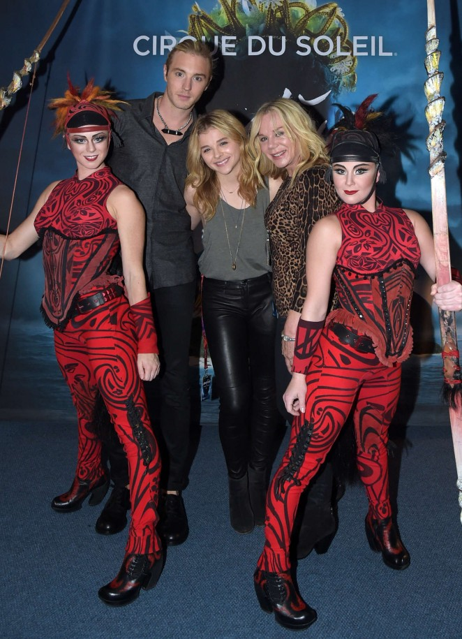 "Chloe Moretz - ""Cirque Du Soleil Amaluna"" Premiere Night in Atlanta"