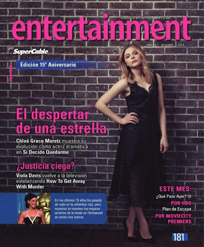 Chloe Moretz - Entertainment SuperCable Magazine (October 2014)