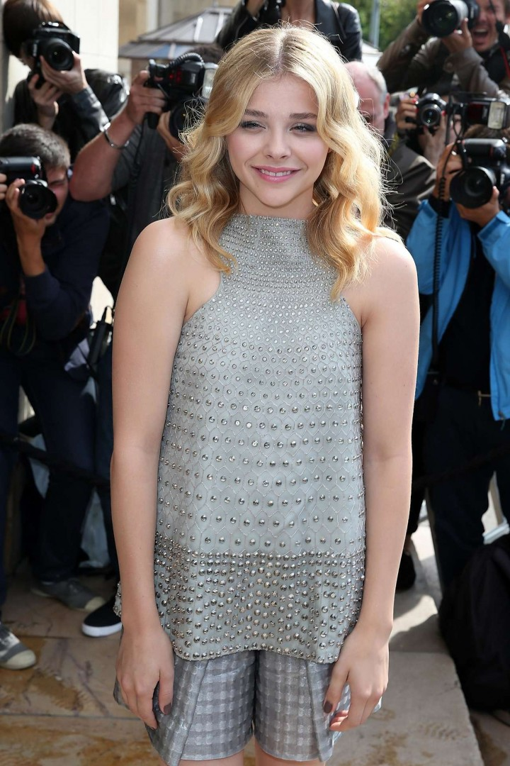 Chloe Moretz - Giorgio Armani Prive fashion show in Paris-07
