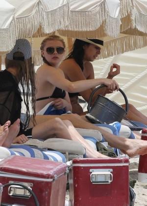Chloe Moretz Bikini Photos: in Miami -35